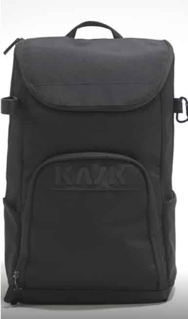 "KASK Equestrian Rider's Backpack Groom Bag with Hidden Helmet Enclosure ""Vertigo"""