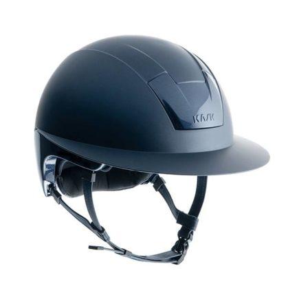 "KASK Equestrian ""KOOKI Lady"" Wide Brim Helmet with Snap Removable Liner"