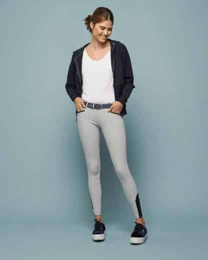 "Dada Sport Ladies Riding Breeches Ultra Comfortable Bi-Stretch Italian Fabric ""Giovani"""
