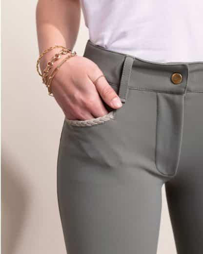 "Dada Sport Ladies Riding Pants ""Giovani"" - Sage"