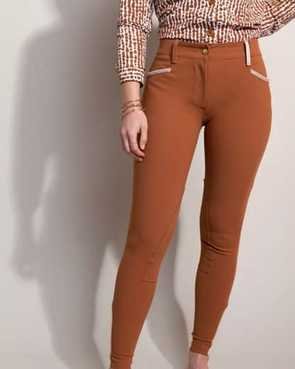 "Dada Sport Ladies Riding Pants ""Giovani"" - Terracotta"