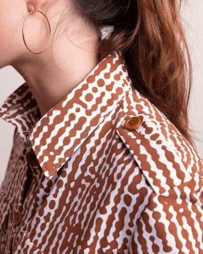 Dada Sport Equestrian Ladies Fashionable Casual Shirt Light Flowing - Albi