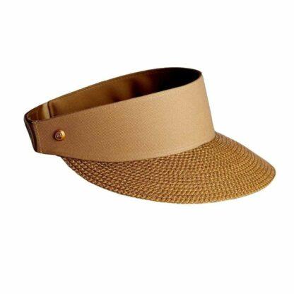 Eric Javits Hats Champ Visor - Honey