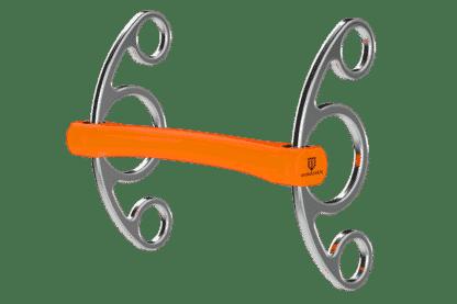 Winderen Gel Bit System Flexi Mullen Mouth American Gag 2.5 Ring